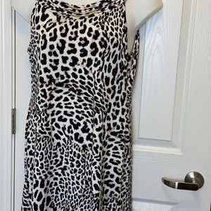 CHEETAH KNIT TUNIC BY STYLE & CO. * SIZE L *